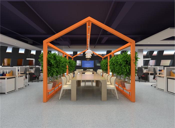 办公室案例―办公空间装修设计