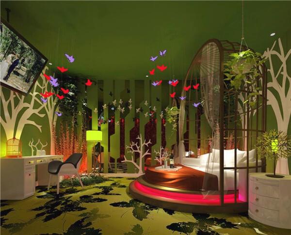 主题酒店案例―情侣酒店设计