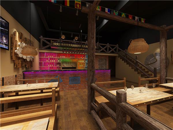 酒吧装修案例―千寻音乐酒吧